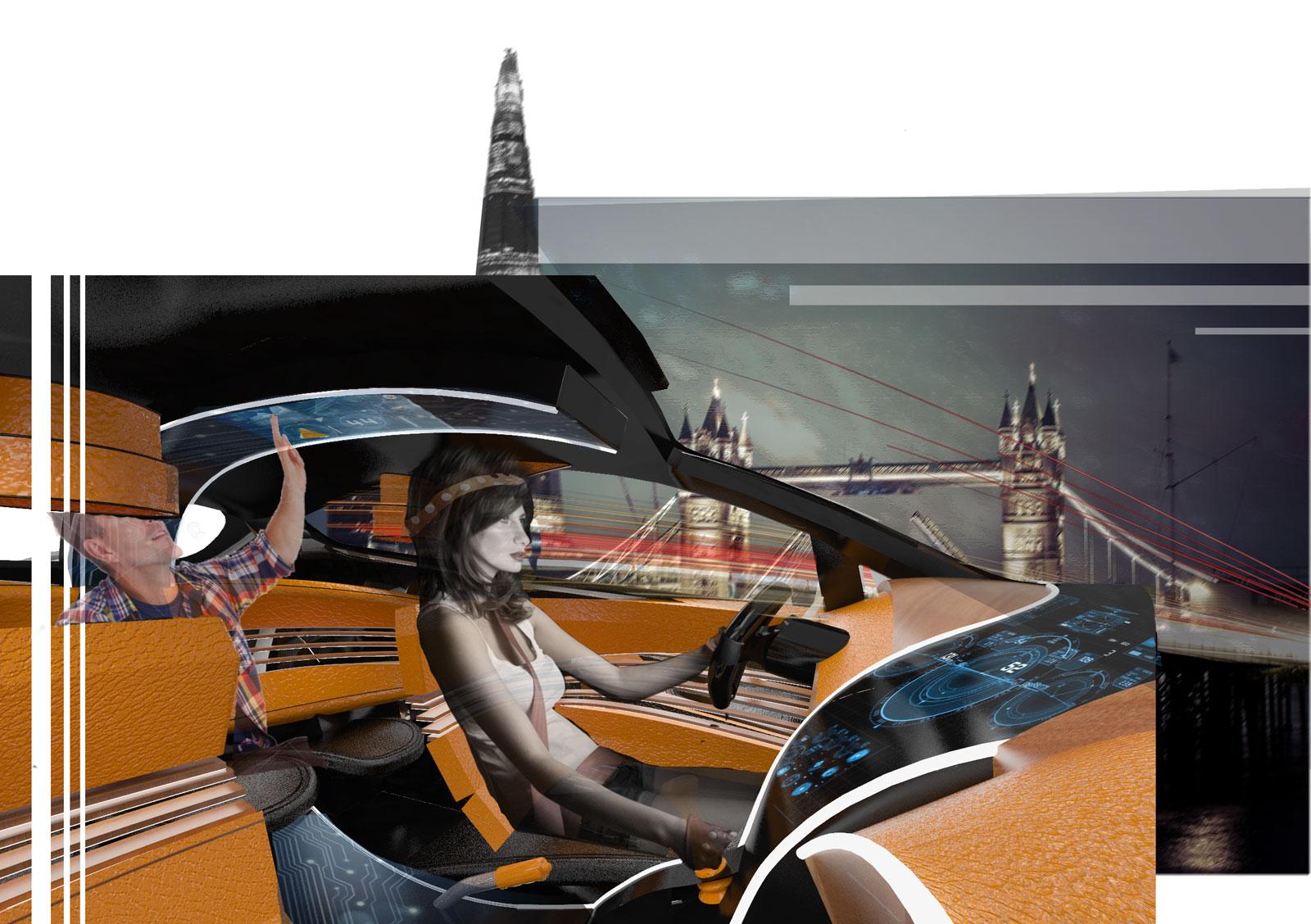 Ford Fiesta Interior Design Workshop Dies Nox Concept Car Body Design