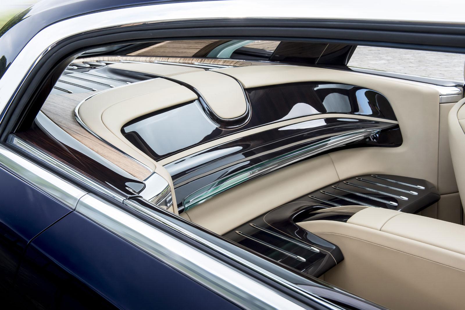 Rolls Royce Sweptail Interior Car Body Design