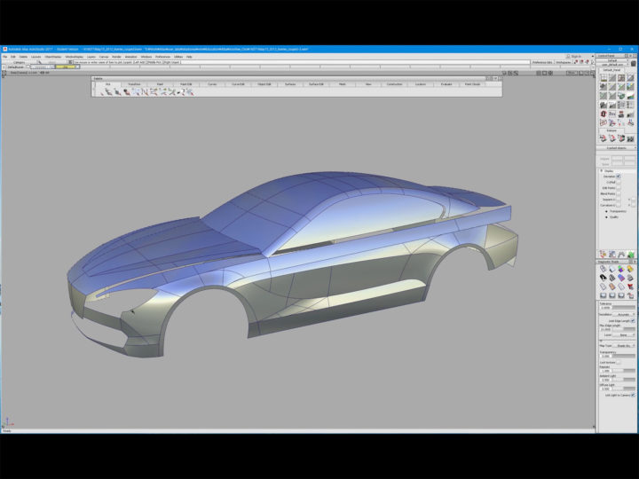 Alias 3d Modeling Tutorial Bmw 6 Series Car Body Design