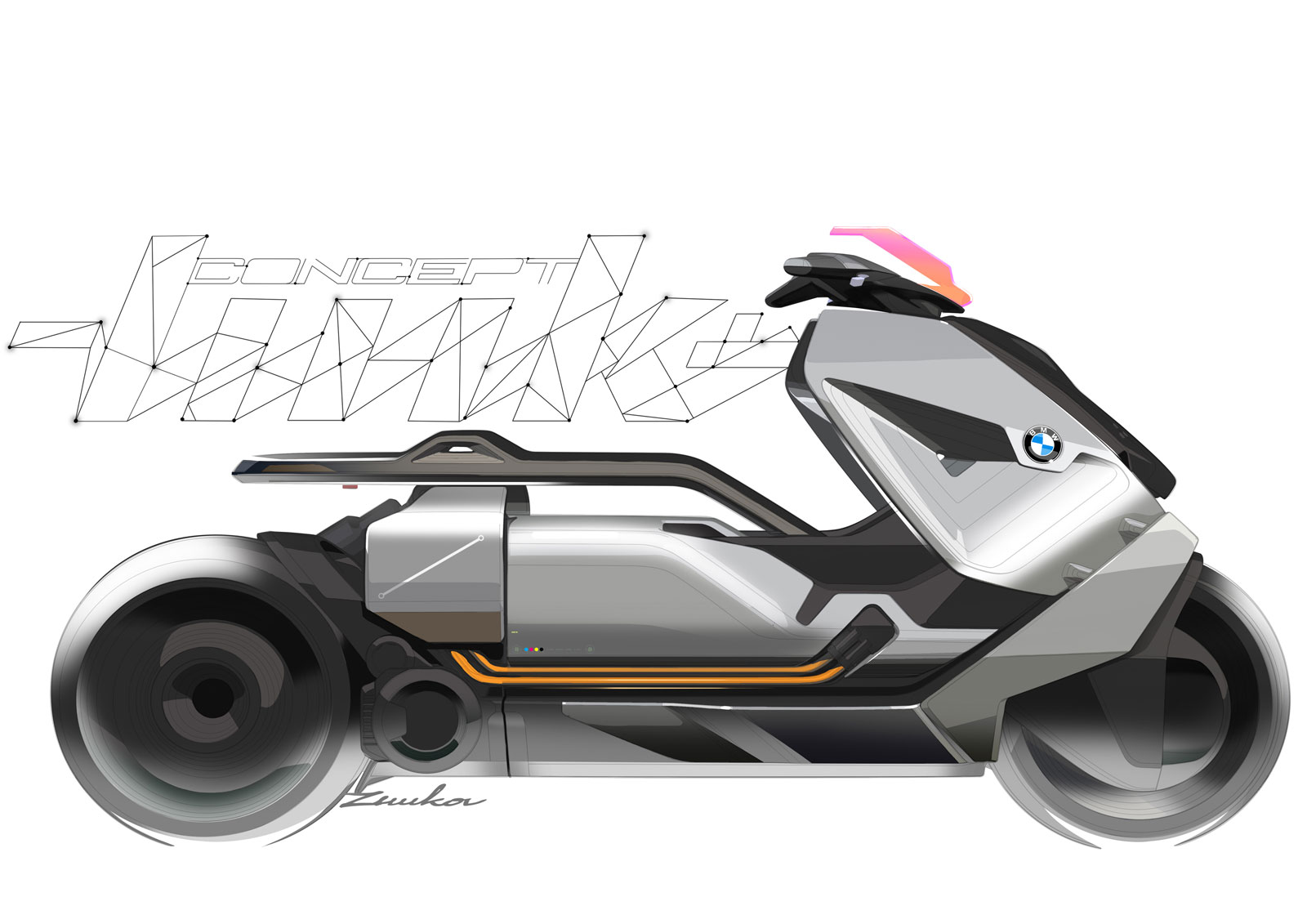Bmw Motorrad Concept Link Design Sketch Car Body Design