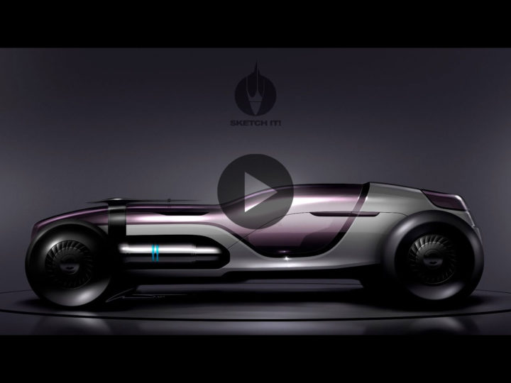 Photoshop car render demo