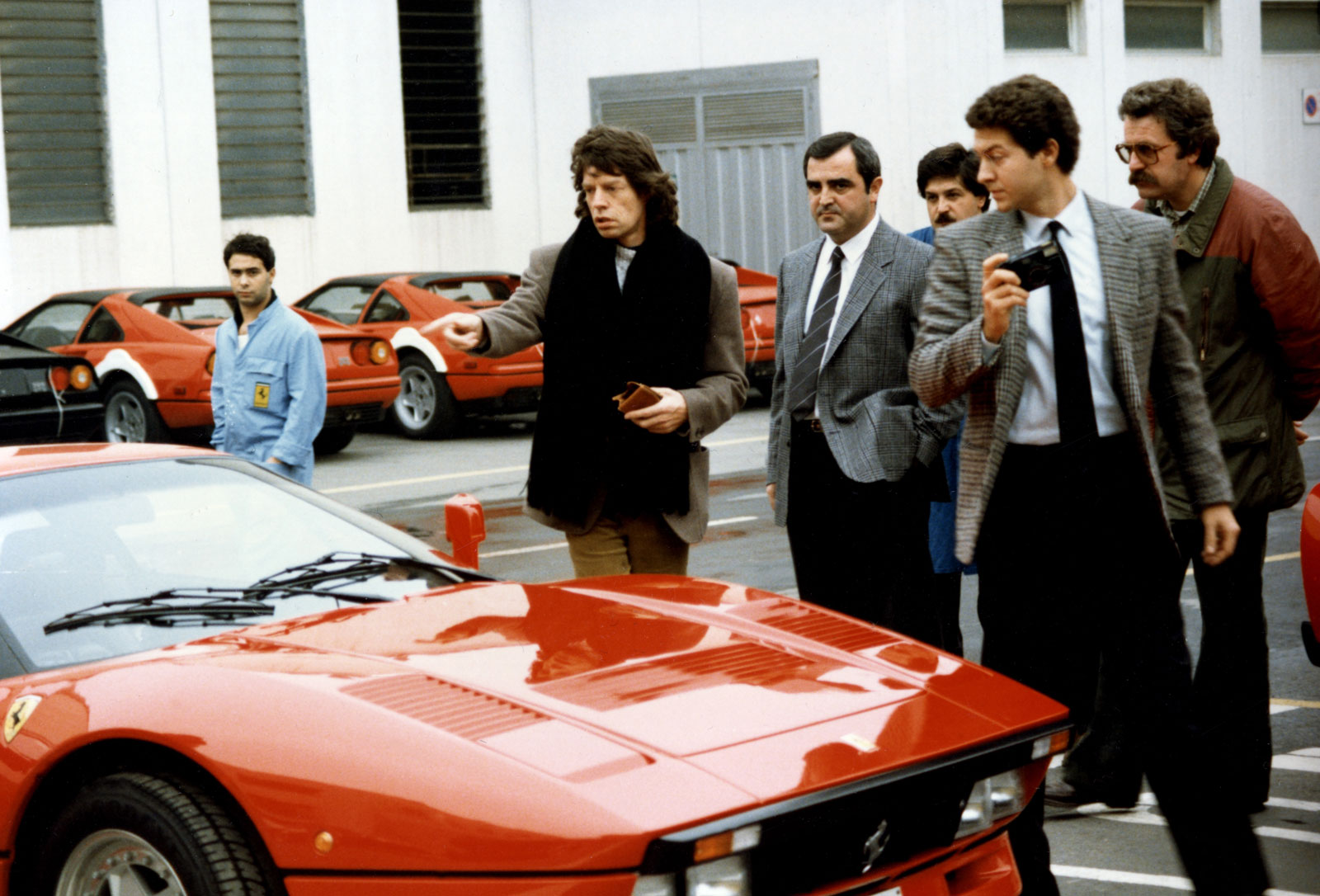 Ruta 66 Octubre 2019 30-Visit-to-Ferrari-Mick-Jagger-leader-of-the-Rolling-Stones-on-the-delivery-of-his-GTO