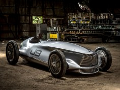 Infiniti Prototype 9 is a retrofuturistic 1940s race car