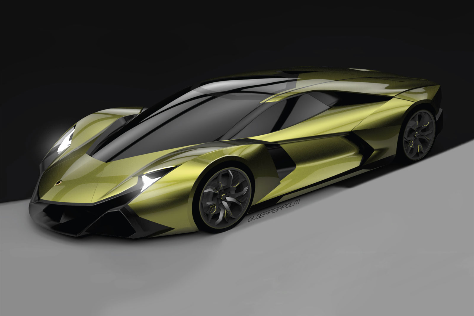 Lamborghini Encierro Concept By Spd Car Body Design
