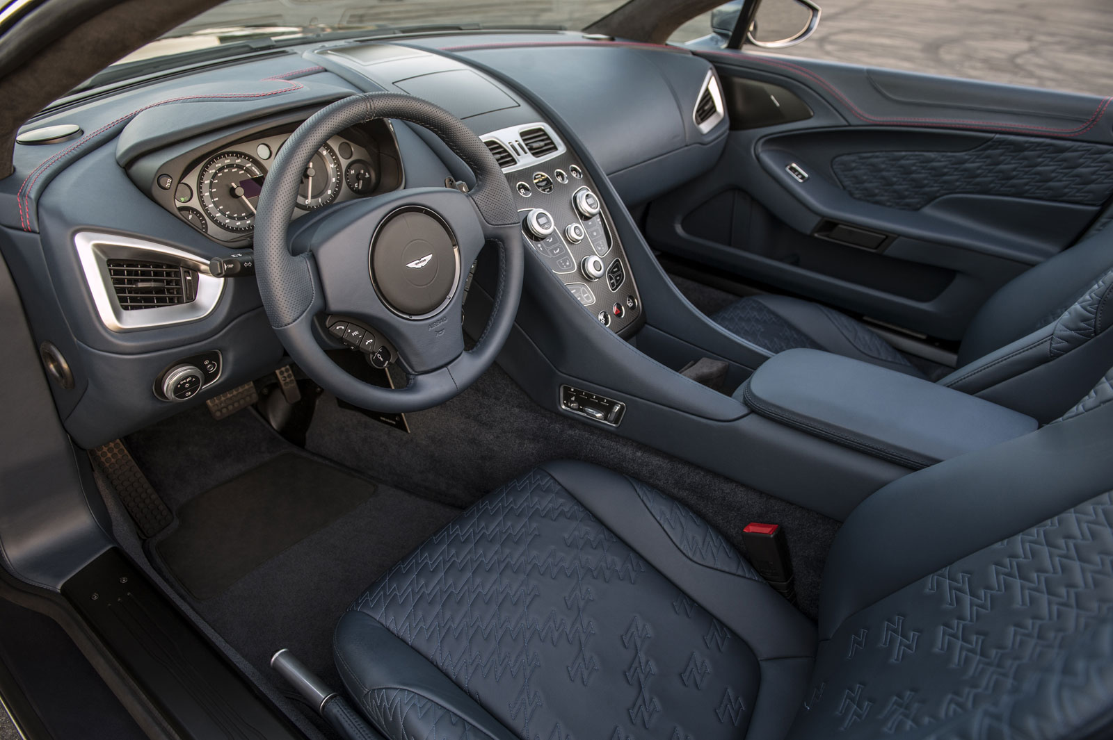 Aston Martin Vanquish Zagato Volante Interior Car Body Design