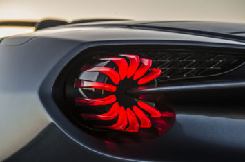 Aston Martin Vanquish Zagato Volante Tail Light