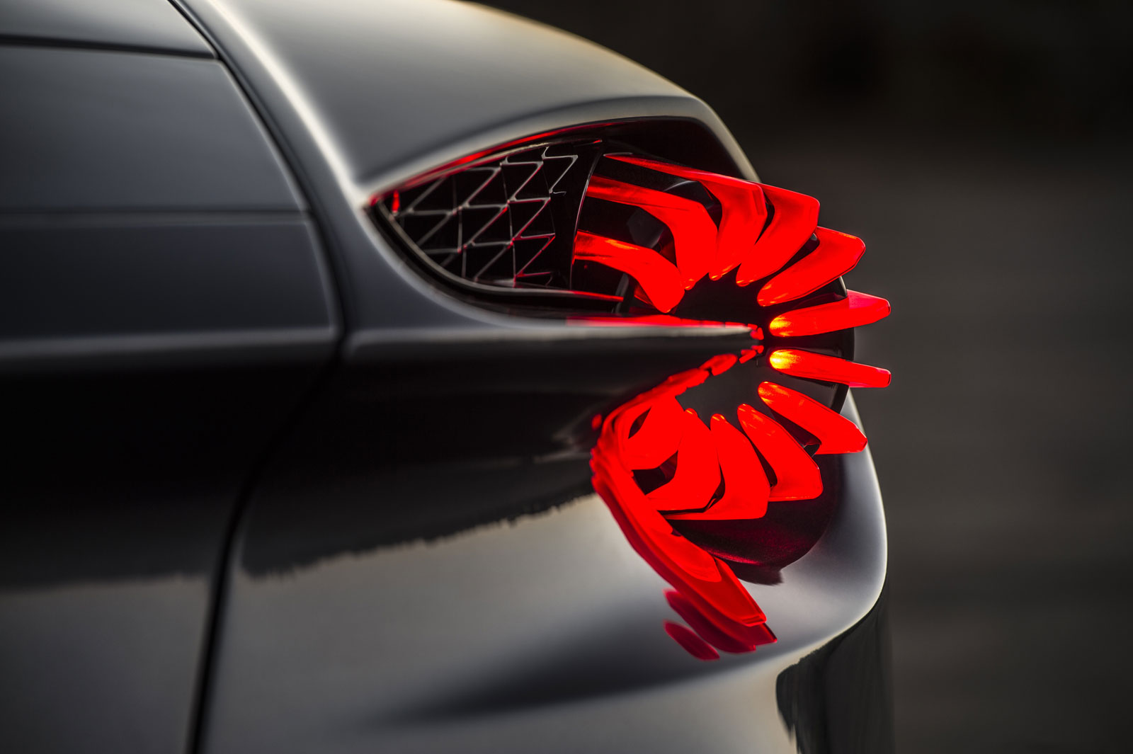 Aston Martin Vanquish Zagato Volante Tail Light Car Body Design