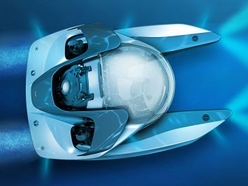 Aston Martin reveals futuristic submersible concept Project Neptune
