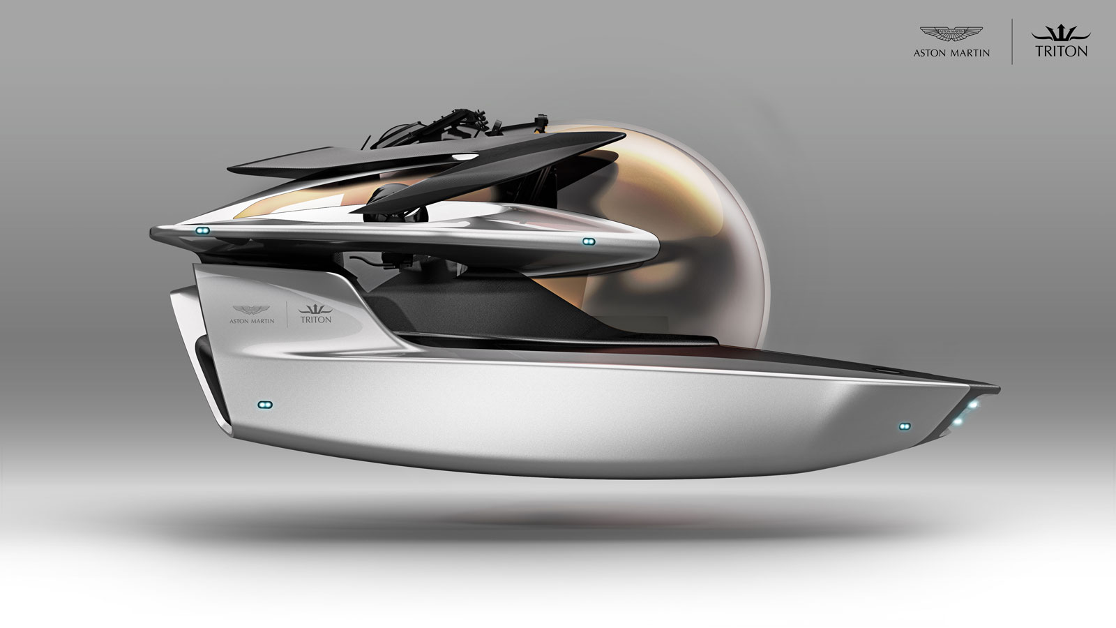 Aston Martin Triton Project Neptune Submersible Concept