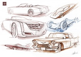 GM Design Sketches by Vladimir Schitt