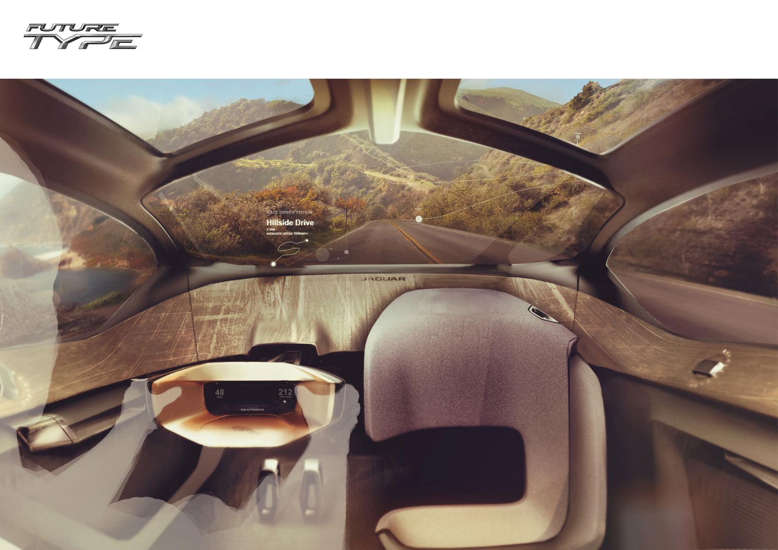 Enjoyable Jaguar Future Type Concept Interior Design Render Car Body Interior Design Ideas Tzicisoteloinfo