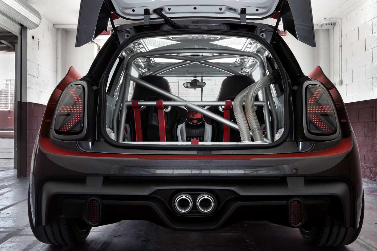 Mini John Cooper Works Gp Concept Interior Car Body Design