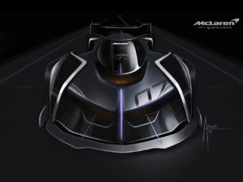 McLaren Ultimate Vision GT puts drivers on their stomach