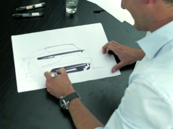 New Porsche Cayenne Design Sketching