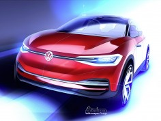 Volkswagen previews updated I.D. Crozz Concept