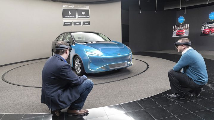 Ford uses Microsoft HoloLens as a design evaluation tool