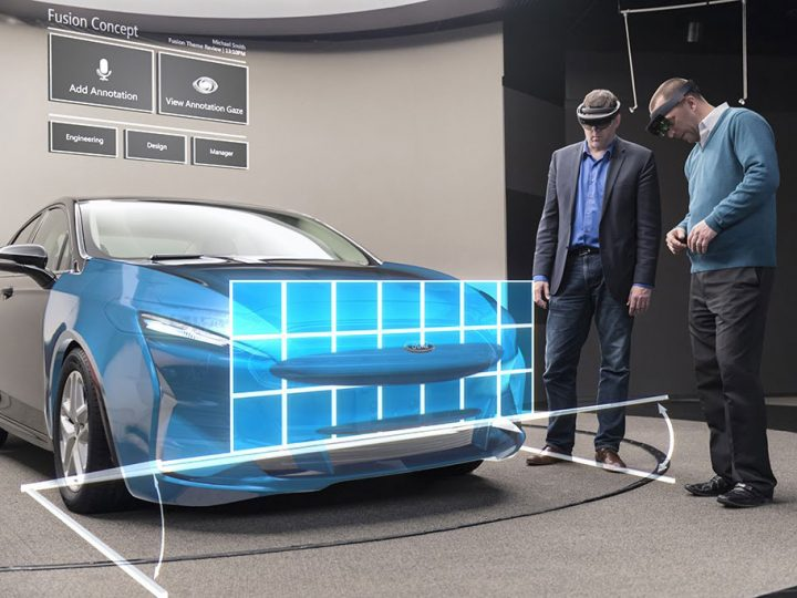 Ford testing Microsoft HoloLens as a design evaluation tool