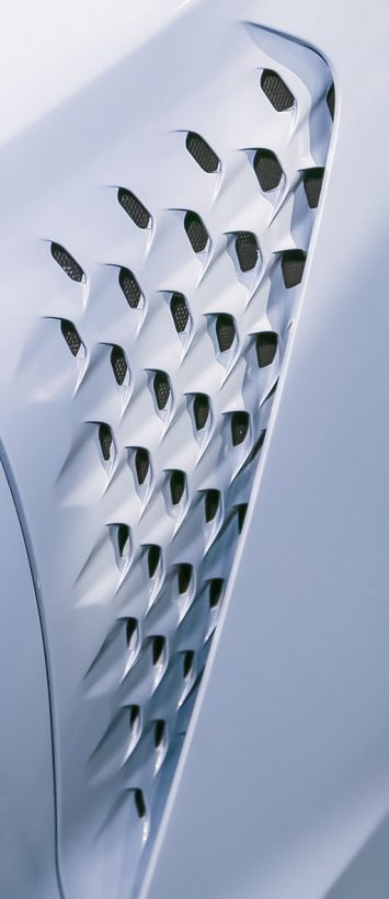 Genesis New York Concept exterior air vents