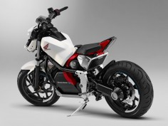 Honda unveils Riding Assist-e self-balancing motorcycle concept