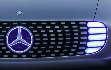 Mercedes-Benz F 015 Luxury in Motion Concept Grille detail