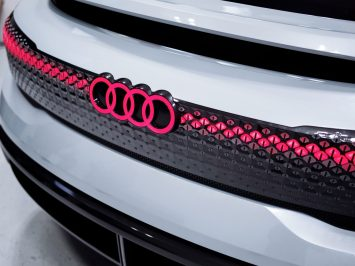 Audi Aicon Concept Tail light detail