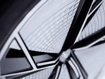 Audi Aicon Concept Wheel design detail