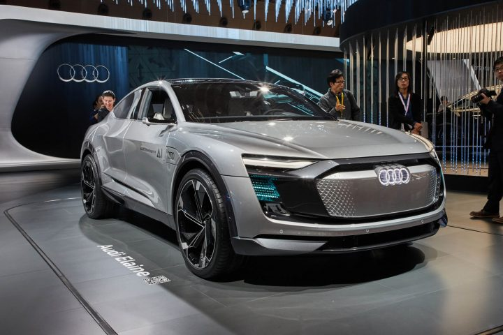 Audi Elaine Concept at the 2017 Tokyo Show