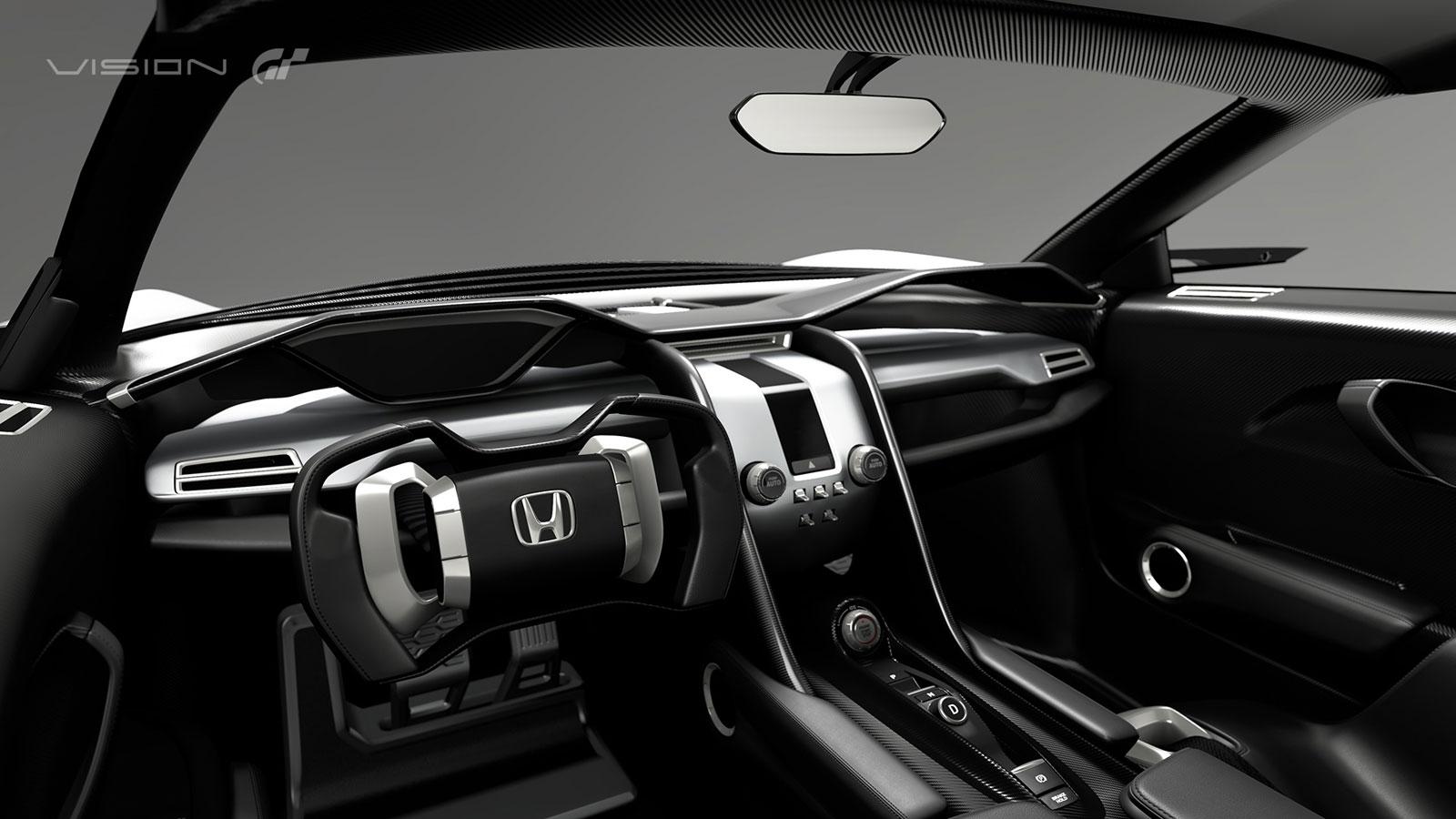 Honda Sports Vision Gran Turismo Concept - Car Body Design