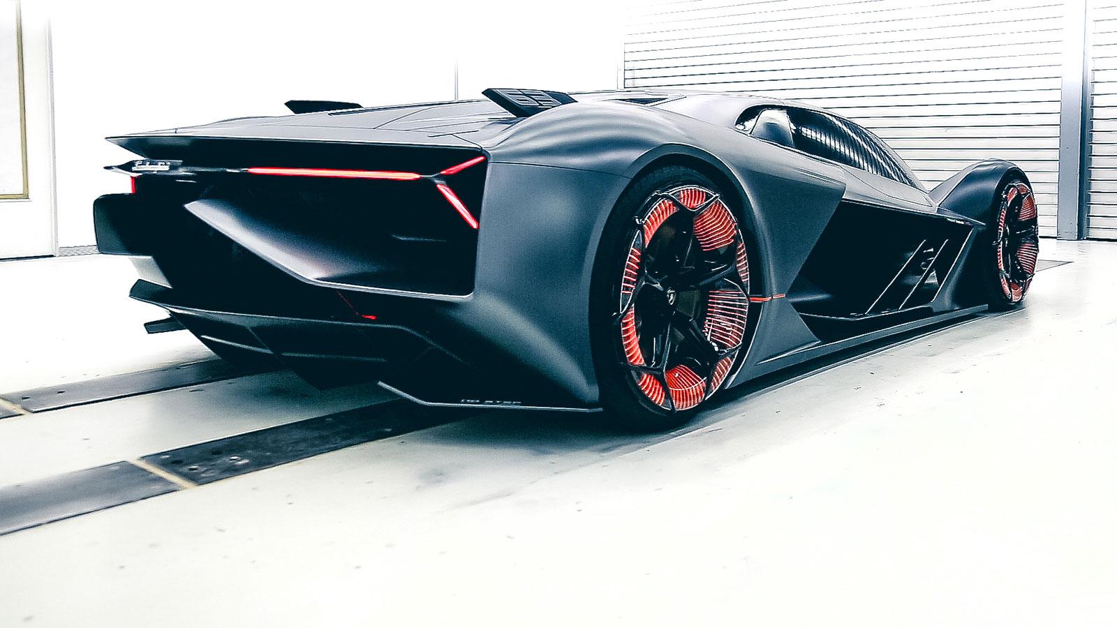 Lamborghini Terzo Millennio Concept Car Body Design