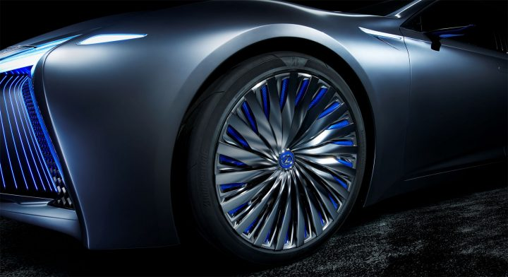 Lexus LS Concept Wheel design