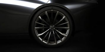 Mazda Vision Coupe Concept Wheel Detail