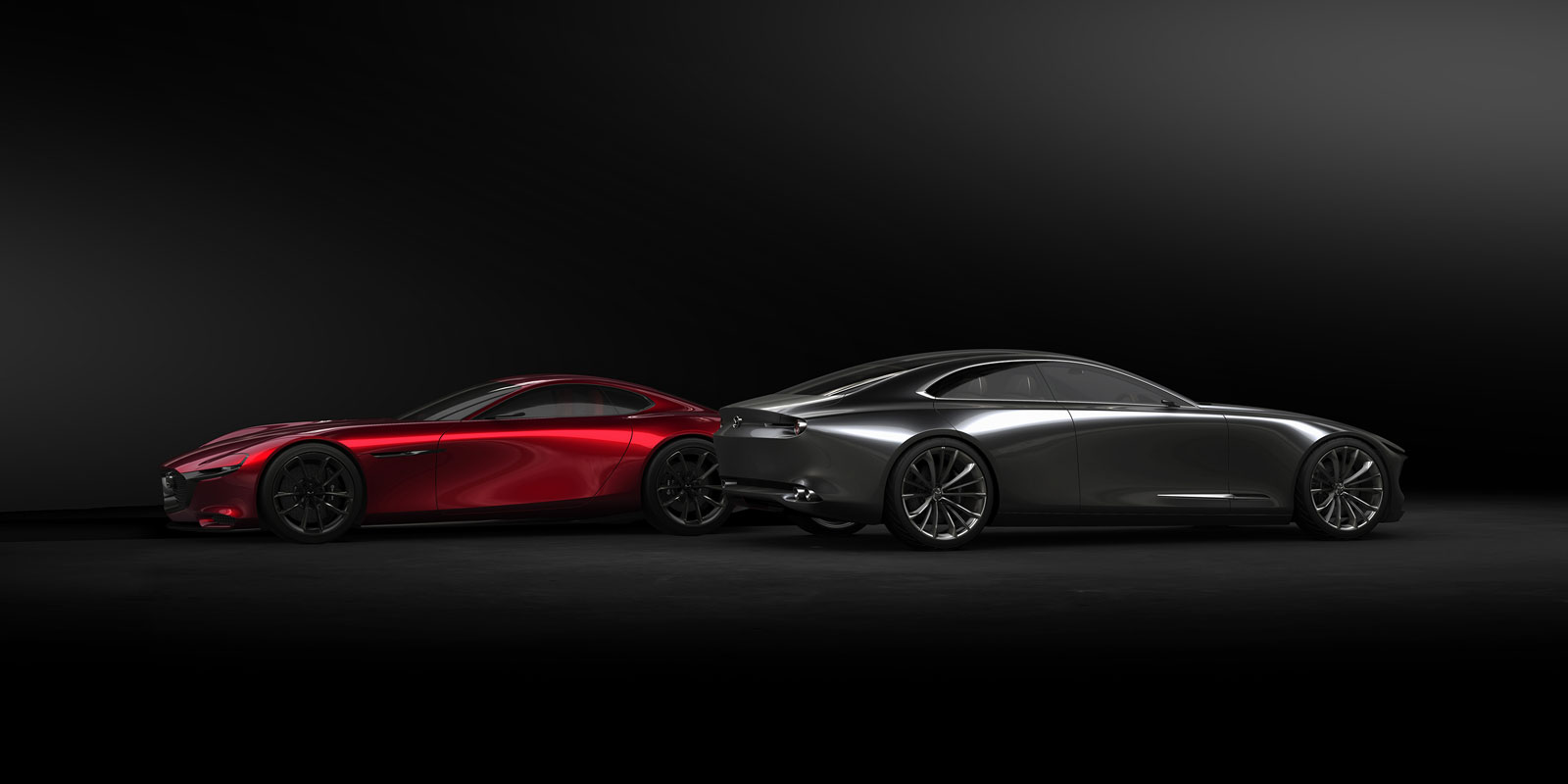 Mazda Vision Coupe Concept and RX Vision Concept