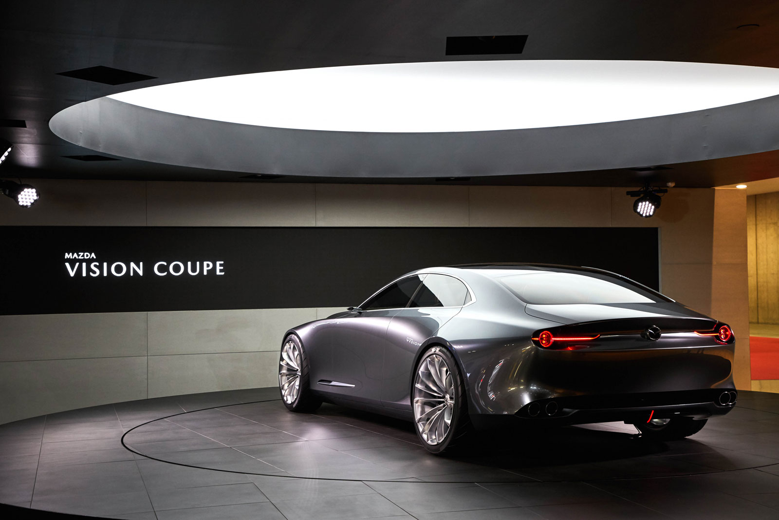 Mazda Vision Coupe Concept at the 2017 Tokyo Show