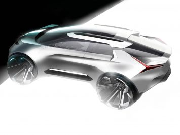 Mitsubishi e-Volution Concept