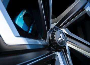 Mitsubishi e Volution Concept Wheel detail