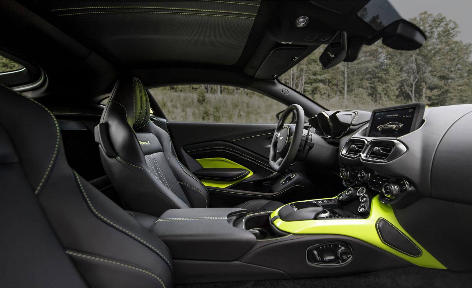 new aston martin vantage interior - car body design