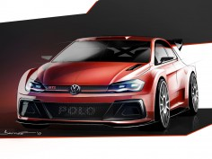 Volkswagen teases Polo GTI rally version with design sketch