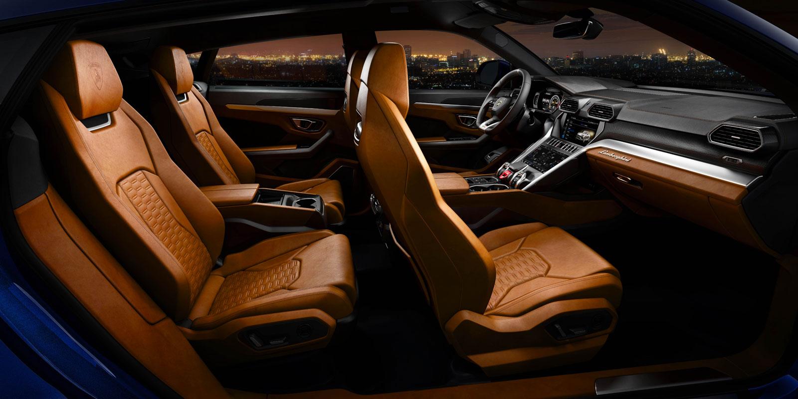 Lamborghini Urus Interior Car Body Design