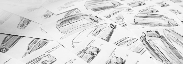 Tesla Model S Shooting Brake by Niels van Roij Design Sketches