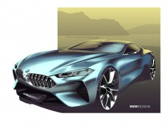 BMW Concept 8 Series: design gallery