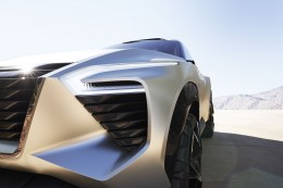 Nissan Xmotion Concept Front end detail