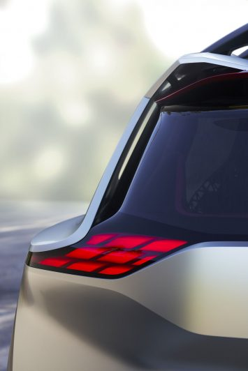 Nissan Xmotion Concept Tail light design