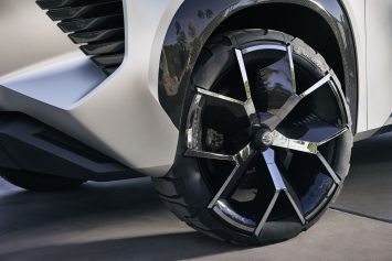 Nissan Xmotion Concept Wheel design