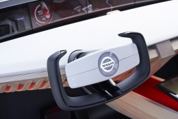 Nissan Xmotion Concept Interior Steering Wheel