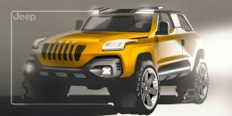 Jeep Concept Design Sketch by Alex Suvorov