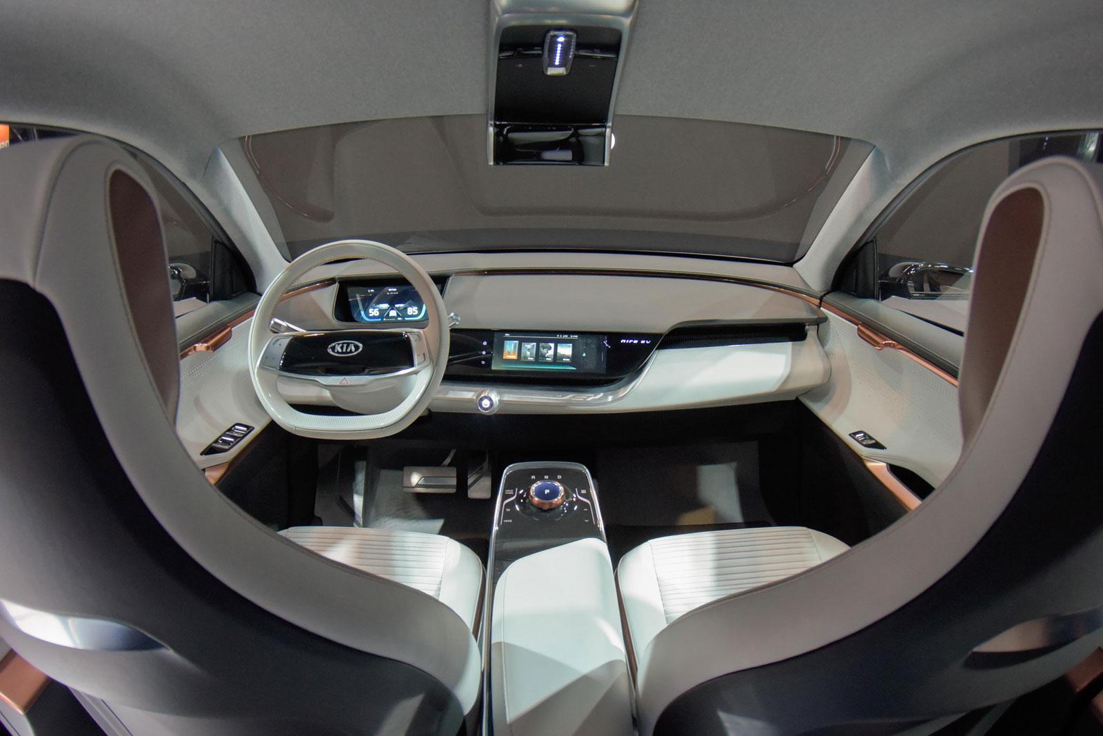 Kia Niro Interior >> Kia Niro Ev Concept Interior Car Body Design