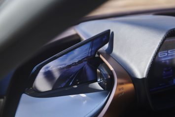 Lexus LF 1 Limitless Concept Interior Side Camera