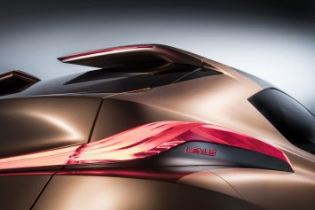 Lexus LF 1 Limitless Concept Interior Tail Light
