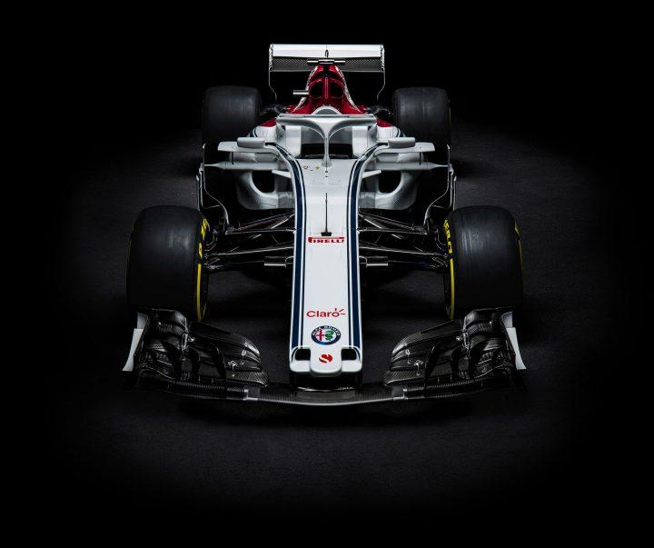 Alfa Romeo And Sauber Reveal The 2018 Formula 1