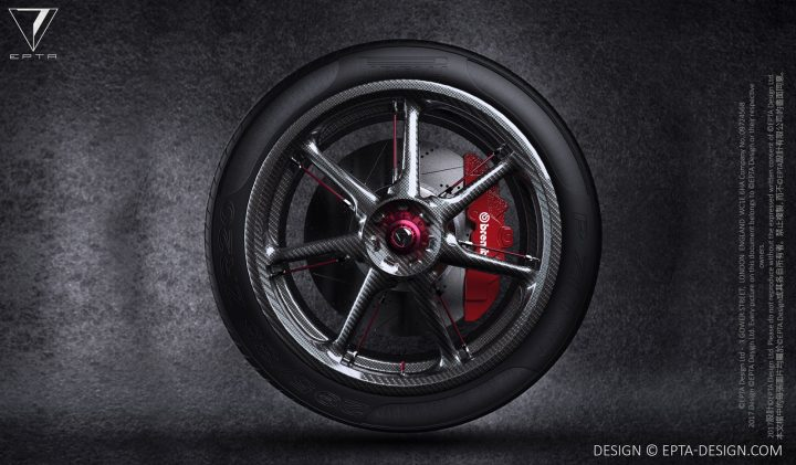 Epta Design Carmen Concept Wheel Design